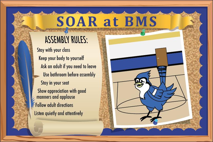Assemblies Expectations Poster