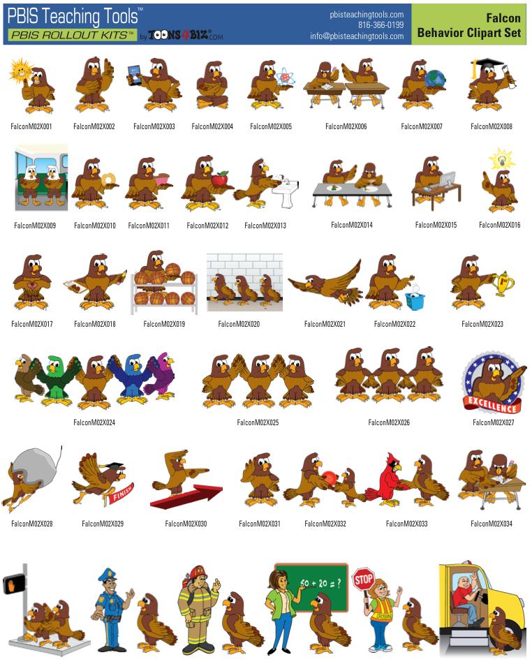 Falcon PBIS graphics