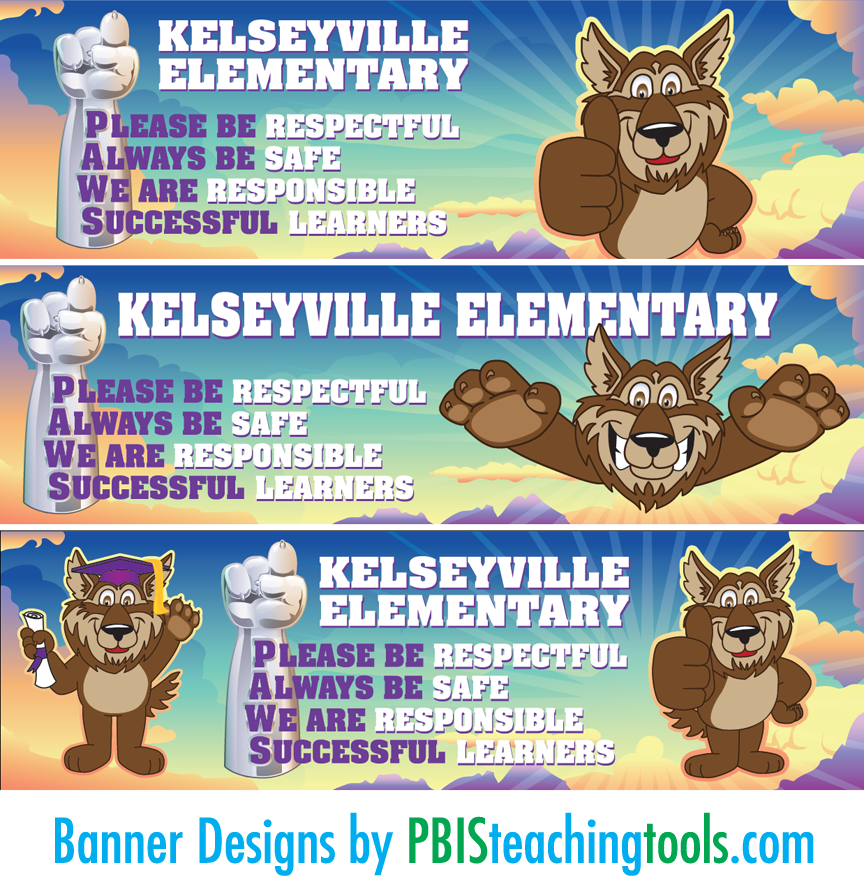 PAWS posters PBIS