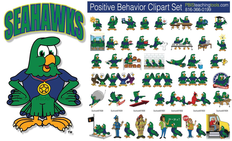 Seahawk Graphic Logo