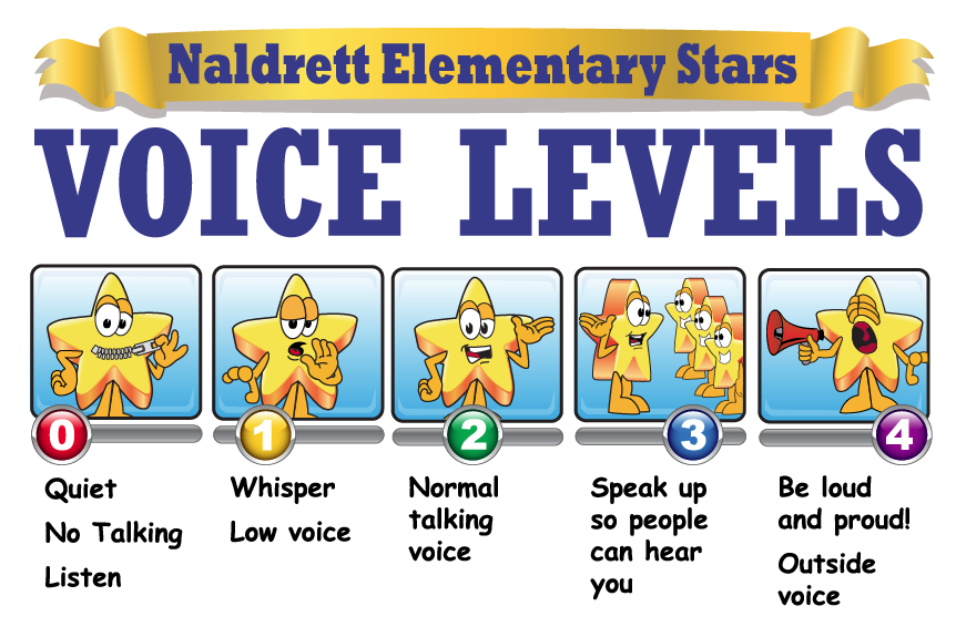 Voice Level Clipart Graphics School