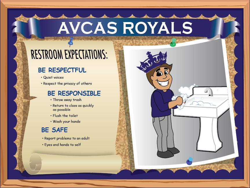 Custom Designed AVCAS Poster