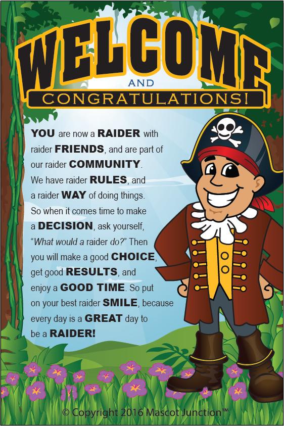 Raider School Poster