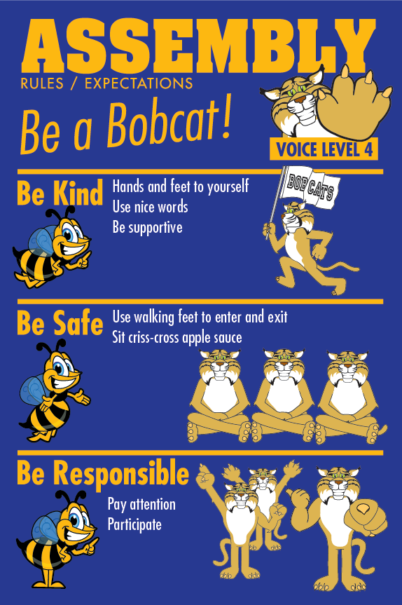 Rules Poster Assembly PBIS