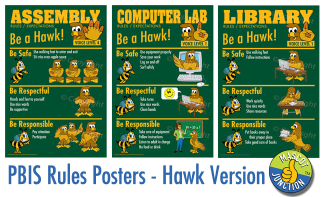 PBIS Rules Poster Ideas