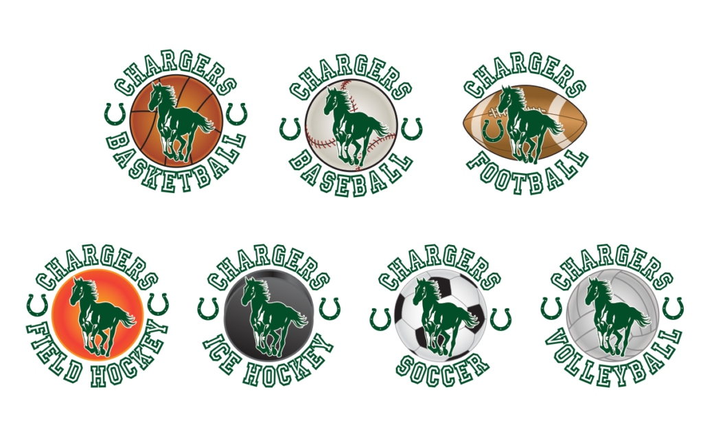 Charger Logo Graphic Clip Art