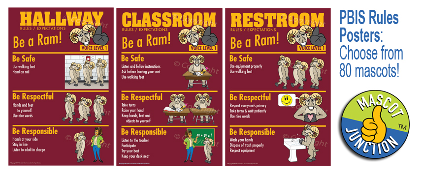 Ram Behavior Expectation Rules Posters