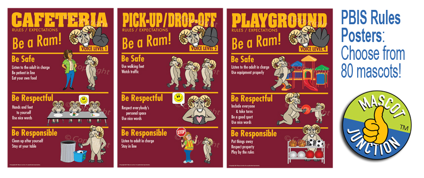 Respect Responsibility Safety Rules Posters Pbis Posters