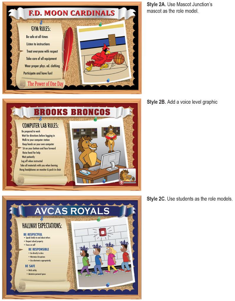 School Posters for PBIS Schools