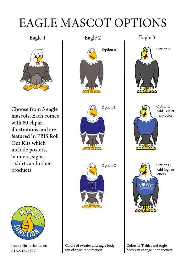 Eagle Mascot Clip Art